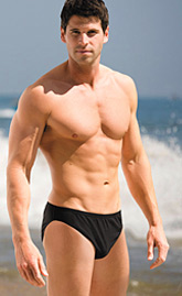 Mens swimwear you suntan through